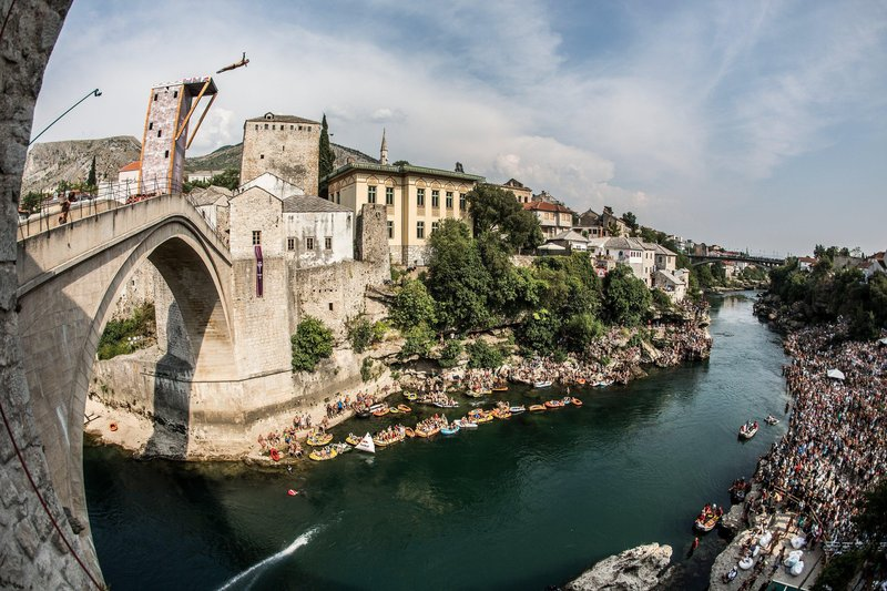Red Bull Cliff Diving Mostar 2016